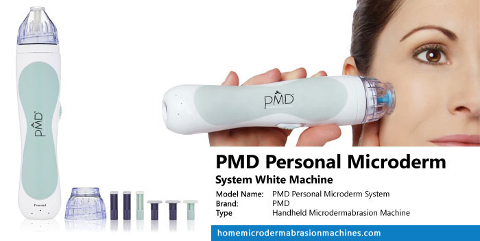 PMD Personal Microderm System White Machine Review