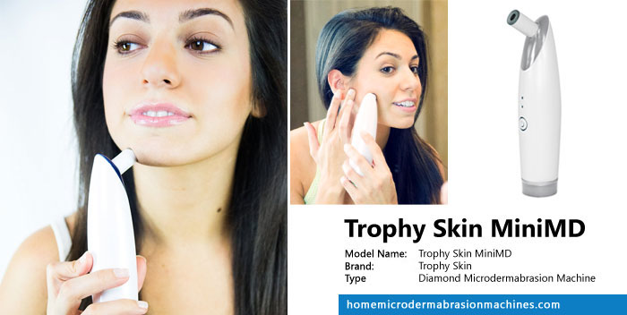 Trophy Skin MicrodermMD Review The older I become, the more conscientious I become about taking care of my skin. In addition to using a quality moisturizer and sunscreen, exfoliating the skin regularly is a key step to keep skin looking young and healthy. Microdermabrasion is a procedure that exfoliates and removes the superficial layer of dry, dead skin cells. This is best used to treat fine.