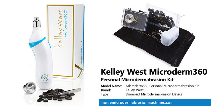 Kelley West Microderm360 Personal Microdermabrasion Kit Review