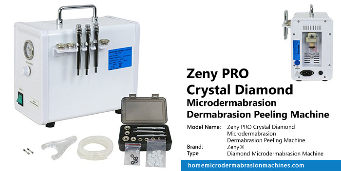 Zeny PRO Crystal Diamond Microdermabrasion Dermabrasion Peeling Machine Review