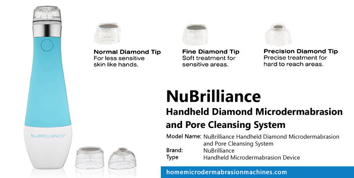 NuBrilliance Handheld Diamond Microdermabrasion And Pore Cleansing System Review