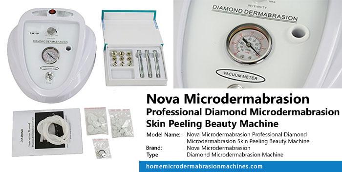 Nova Microdermabrasion Professional Diamond Microdermabrasion Skin Peeling Beauty Machine Review