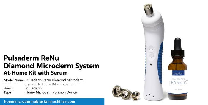 Pulsaderm ReNu Diamond Microderm System At-Home Kit with Serum Review