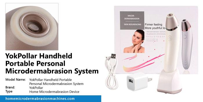 YokPollar Handheld Portable Personal Microdermabrasion System Review
