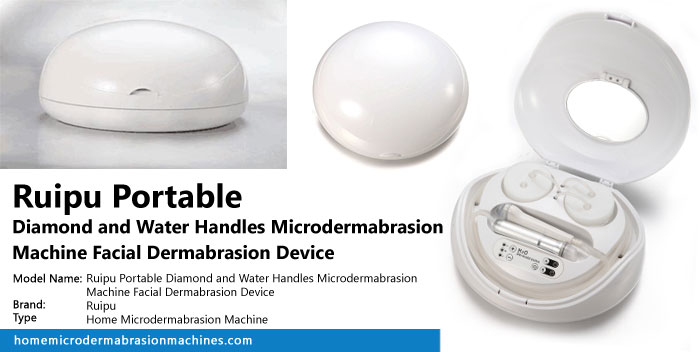 Ruipu Portable Diamond and Water Handles Microdermabrasion Machine Facial Dermabrasion Device Review