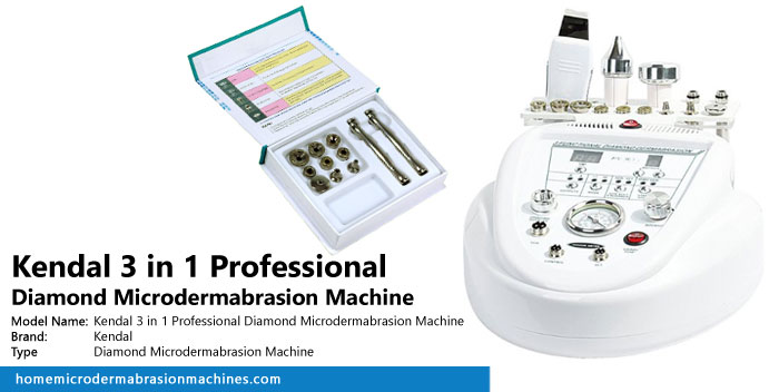 Kendal 3 in 1 Professional Diamond Microdermabrasion Machine Review